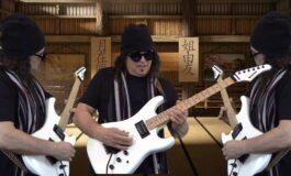 """Niespodzianka - Vinnie Moore w nowym teledysku do utworu """"Kung Fu Grip"""""""