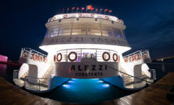 System nagłośnieniowy KV2 Audio na katamaranie Alezzi Yacht