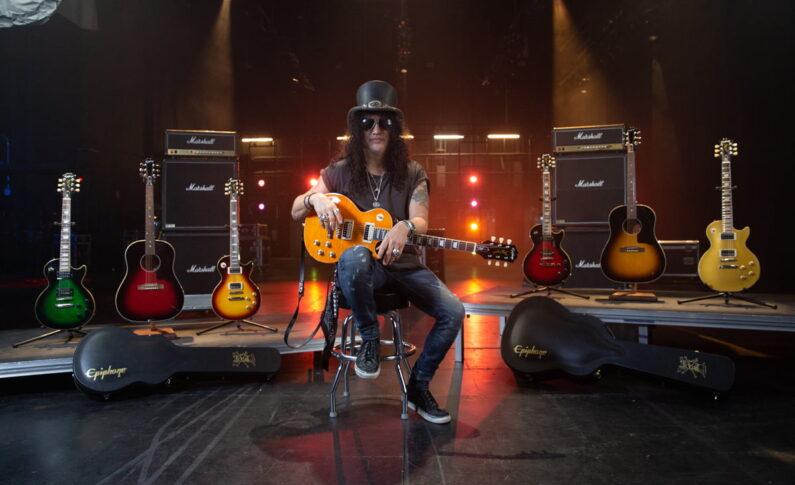 Epiphone Slash Collection – nowa linia instrumentów słynnego gitarzysty