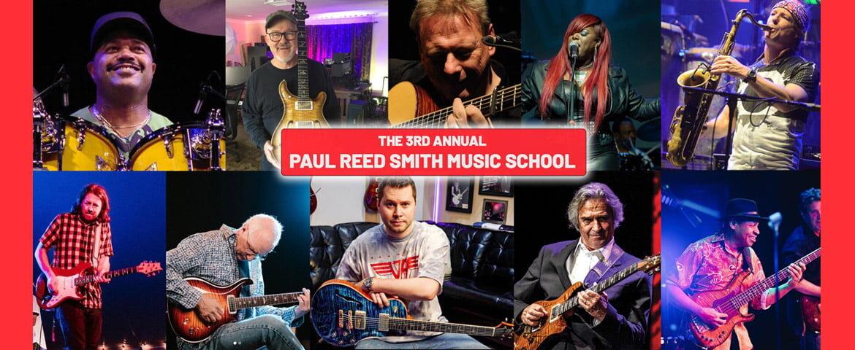 """Paul Reed Smith Music School at Maryland Hall"" po raz trzeci"