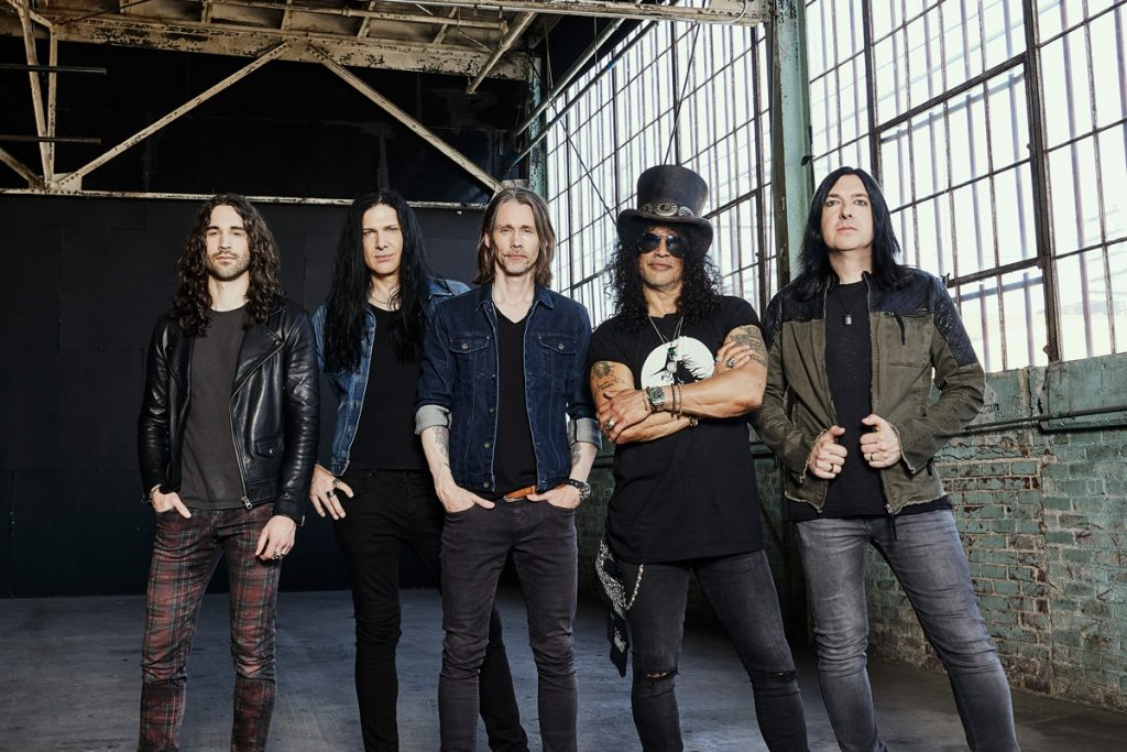 Slash Featuring Myles Kennedy and The Conspirators (fot. Austin Nelson) Gibson Records