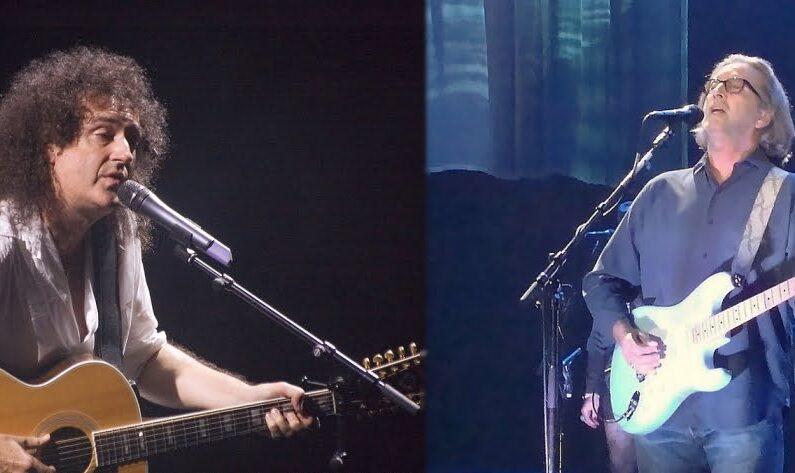 Brian May krytykuje Erica Claptona za postawę antyszczepionkową