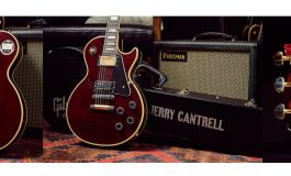 "Gibson Custom Shop Jerry Cantrell ""Wino"" Les Paul Custom"