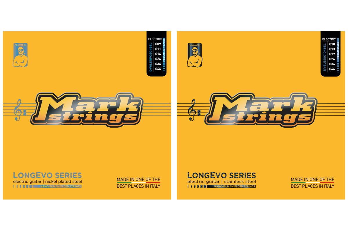 Gitarowe struny MarkStrings LONGEVO już dostępne