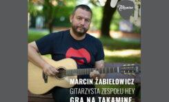 Marcin Żabiełowicz wśród polskich artystów Takamine