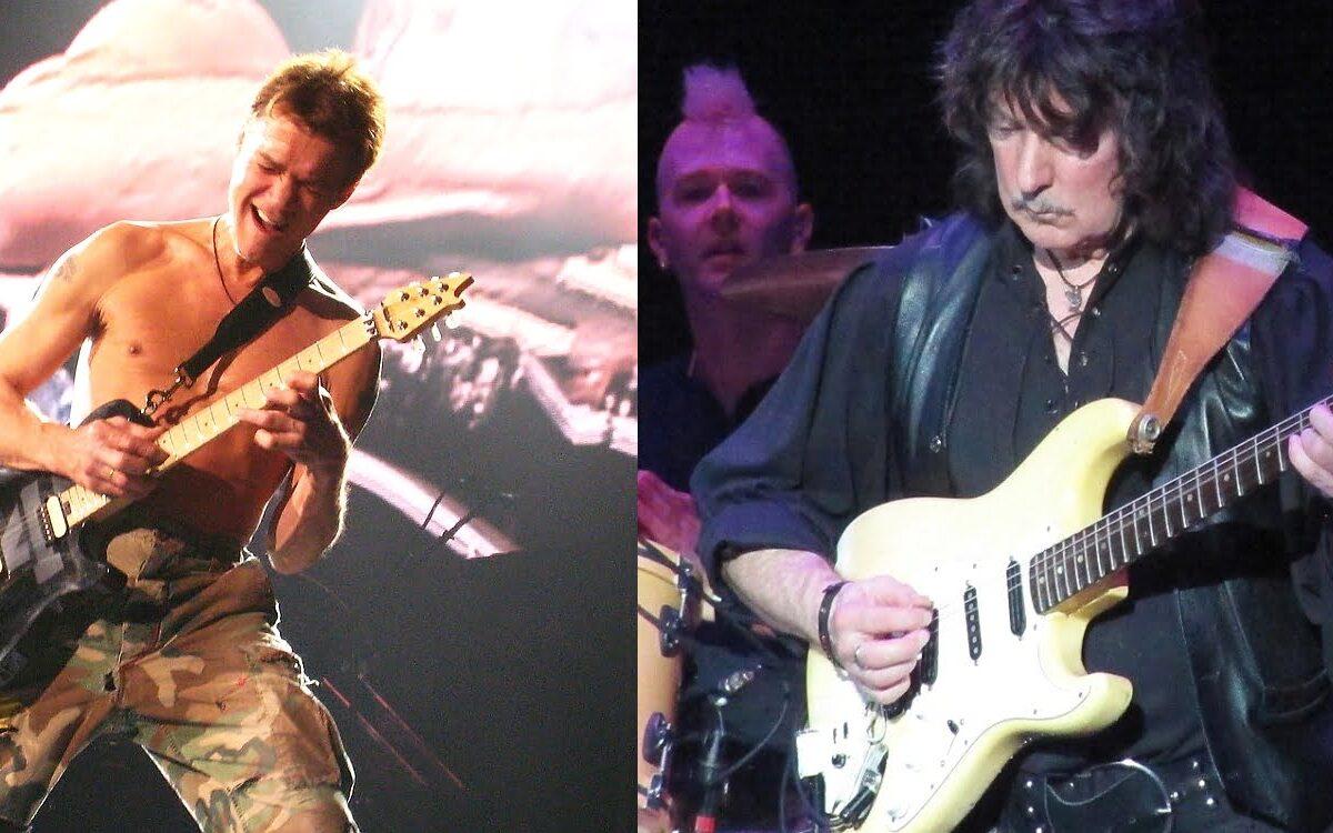 """""""W ogóle nie był zarozumiały"""" – Ritchie Blackmore o Eddiem Van Halenie"""