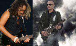 """Kirk Hammett: """"Satriani skopał mi tyłek"""""""
