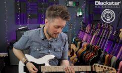 Frazowanie na gitarze - lekcja z Blackstar Potential