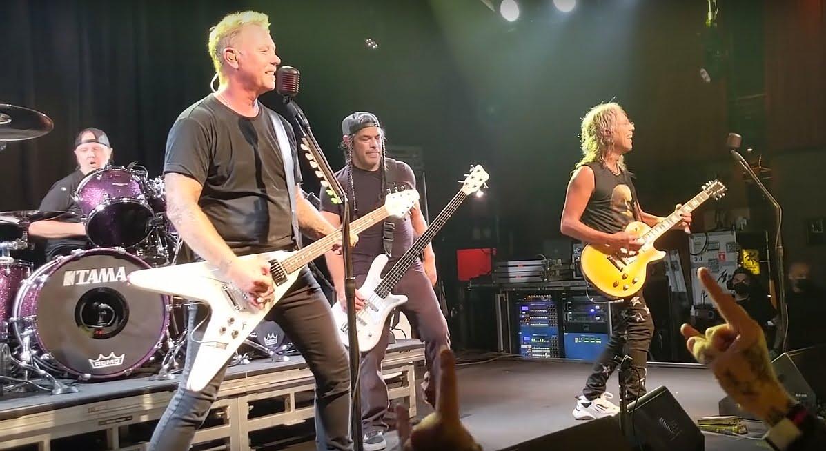 Metallica zagrała klubowy koncert z zaskoczenia!