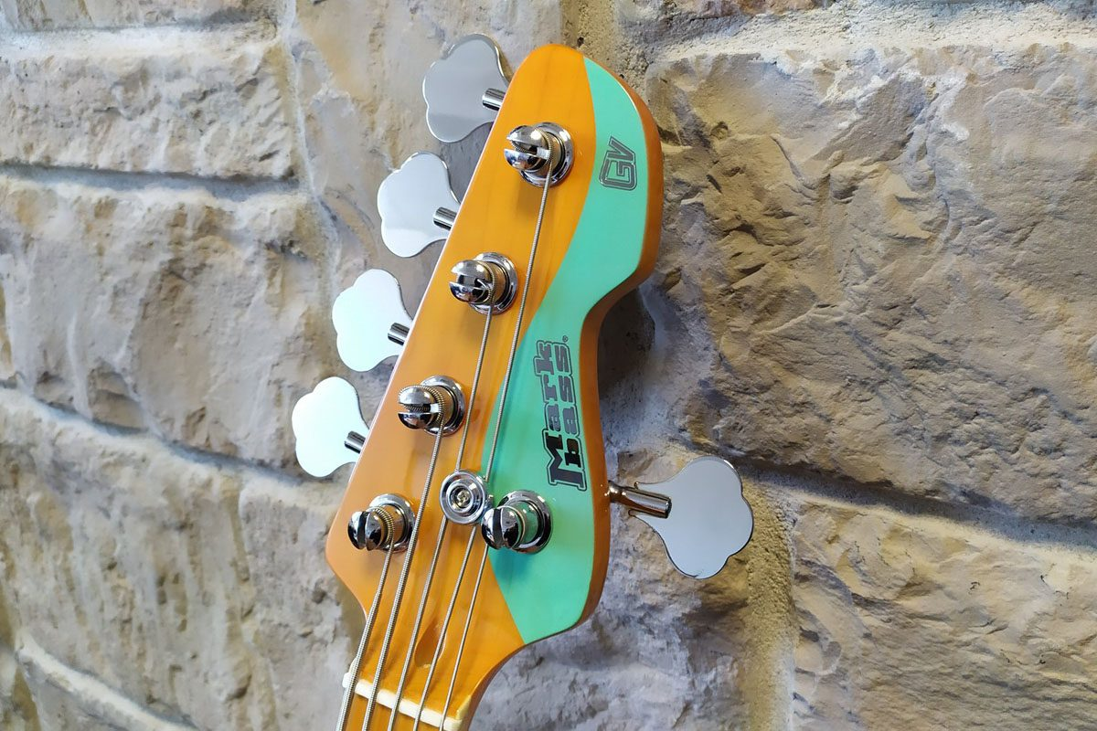 Markbass – gitary basowe MB GV4 i MB GV5