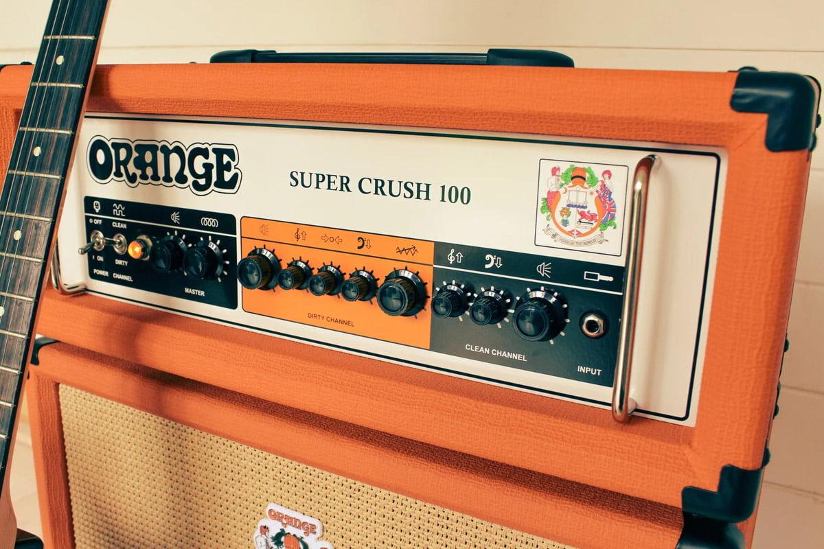 Orange Amplification prezentuje wzmacniacze Super Crush 100
