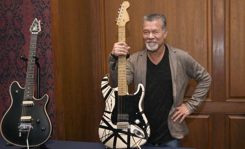 """""""Muzyka to nie sport"""" - kilka porad jakie Eddie Van Halen dał młodym gitarzystom"""