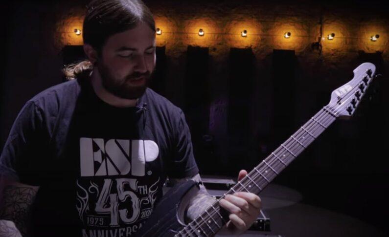 Cameron Stucky prezentuje gitarę LTD Deluxe SN-1 HT