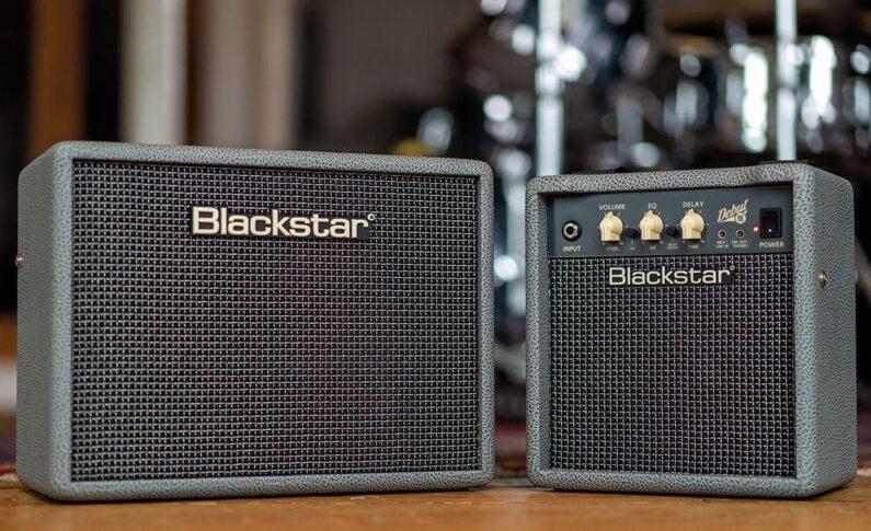 Limitowane wzmacniacze Blackstar Debut Bronco Grey