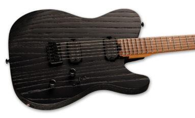 LTD Deluxe TE-1000 Black Blast