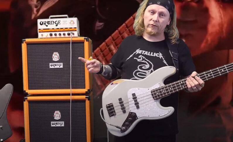 Terry McDaniel i jego sprzęt marki Orange