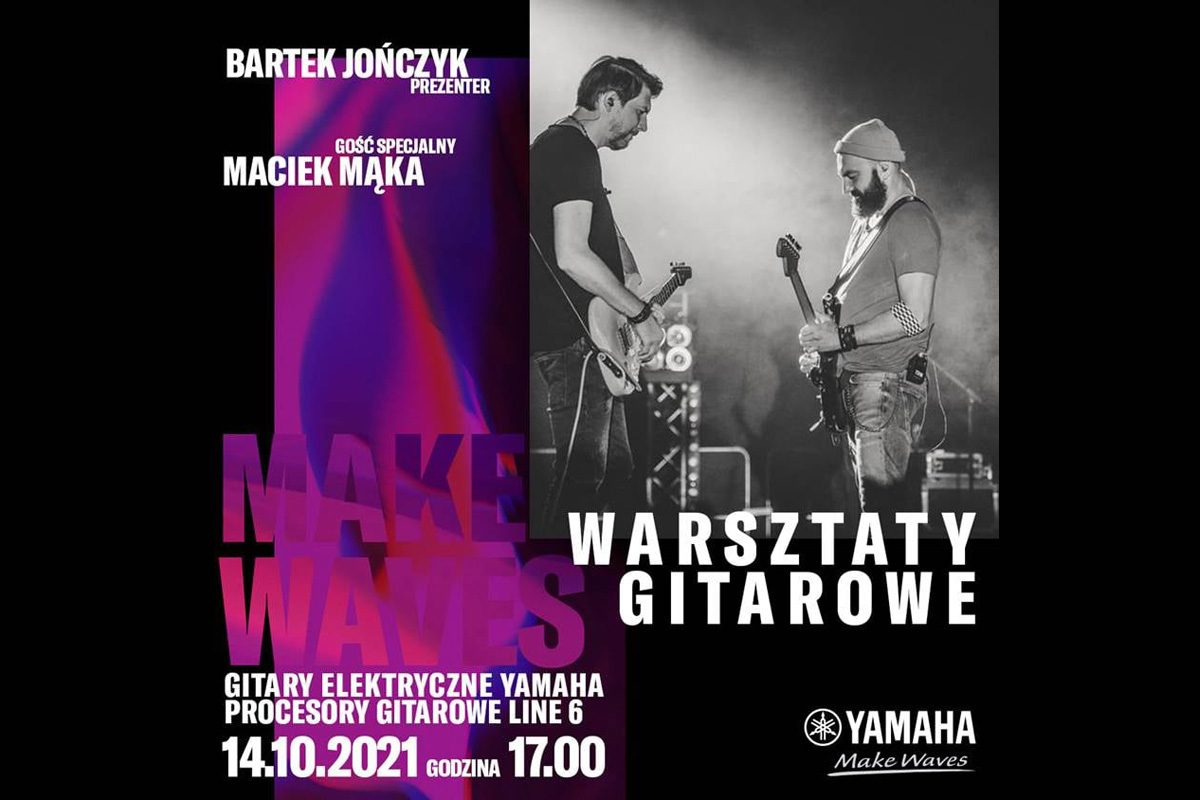 Gitarowe warsztaty w Music Store Poznań